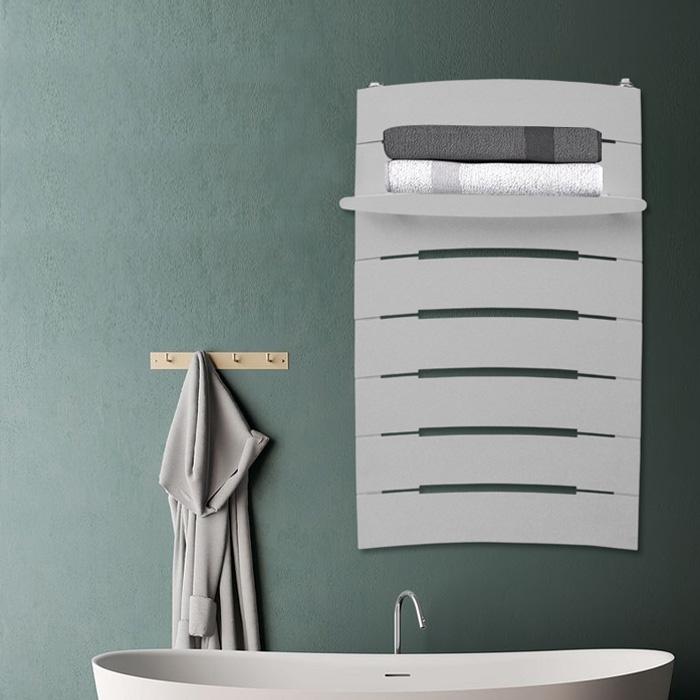 铜铝复合LV背篓毛巾架款式散热器